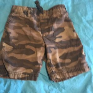 Carter's camouflage shorts